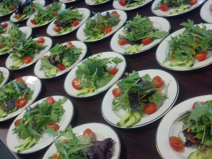 Tmx Garden Salad Plated Line Cheat A Little Catering 51 1044101 159267630745308 San Mateo, CA wedding catering