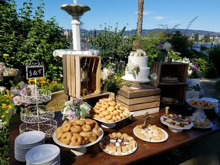Tmx Wedding Cake Donuts Sweets Table Cheat A Little Catering 51 1044101 159267648740356 San Mateo, CA wedding catering