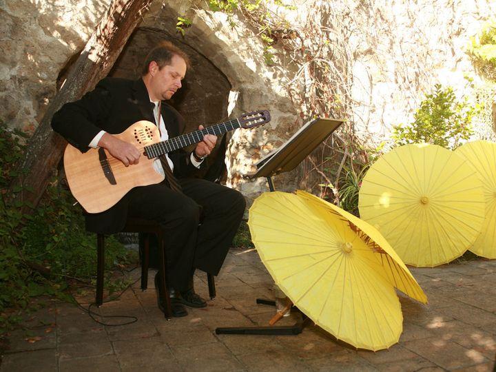 Tmx 1450582093967 Steve Playing Ceremony Guitar At Ann Swank Wedding Pebble Beach, CA wedding dj