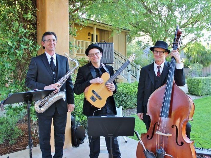 Tmx 1450582525949 Guitar Upright Bass  Sax Trio 800x533 Pebble Beach, CA wedding dj