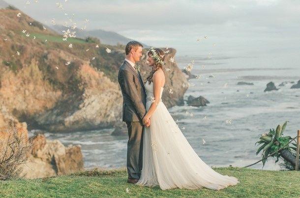 Tmx 1455697335742 Liz  Brian In Front Of Ocean By Carlie Statsky Pebble Beach, CA wedding dj