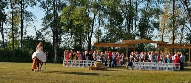 Tmx 1506704519697 Wedding With Horse 2 Hutchinson, Minnesota wedding venue