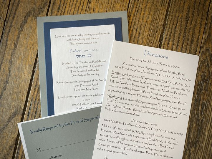Tmx Img 1307 51 494101 160972583420737 Port Washington, NY wedding invitation
