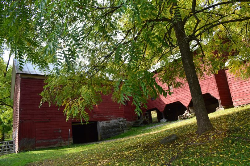 Back of barn complex