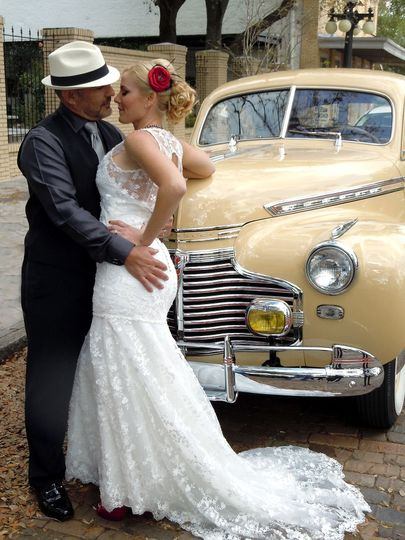 1941 Chevrolet Deluxe 3-4 passenger with driver