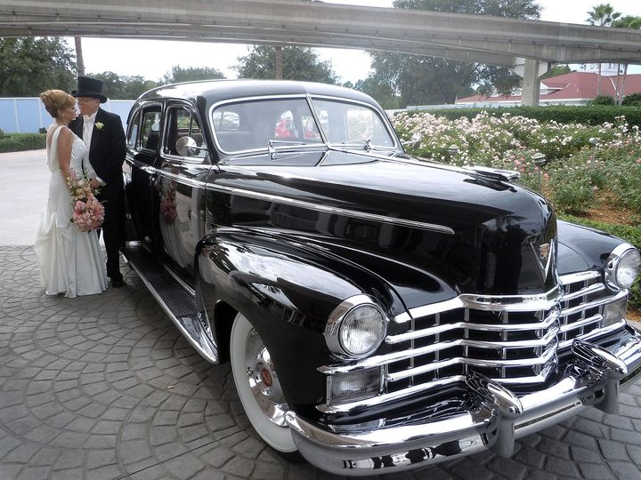 1948 Cadillac Limo 6 passenger with driver