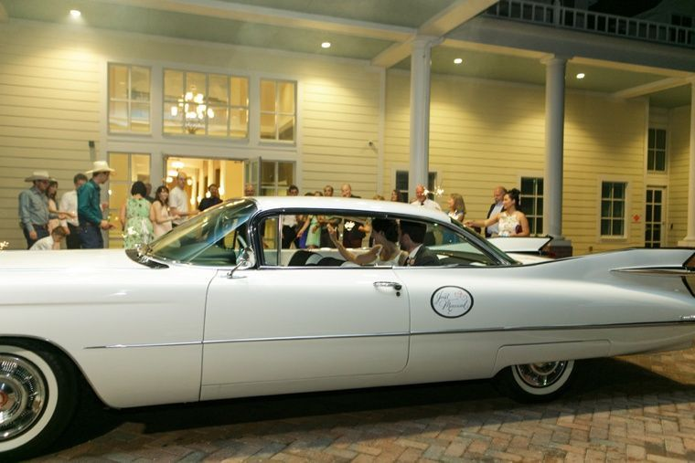 1959 Cadillac Coupe 3-4 passenger with driver