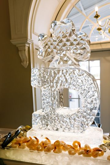 Ice Sculpture & Seafood Tower