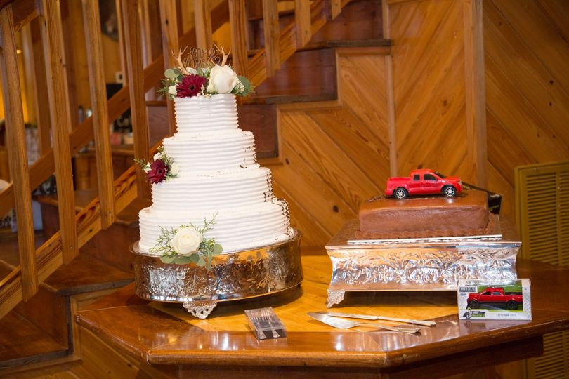 Gorgeous cake details