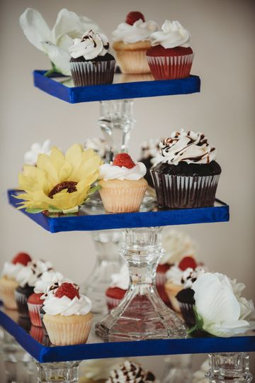Tiered Cupcakes
