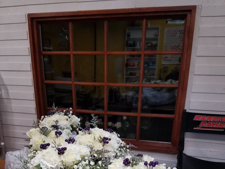 Tmx Bridal Party Ready For Delivery Winter White Roses Bb Lavender Copy 51 1039101 Frankfort, NY wedding florist