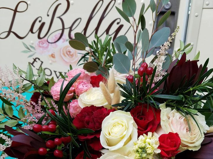 Tmx Bride Bouquet Textured Burgandy Cream 51 1039101 Frankfort, NY wedding florist