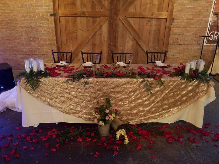 Tmx Reception Head Table Copy 51 1039101 Frankfort, NY wedding florist