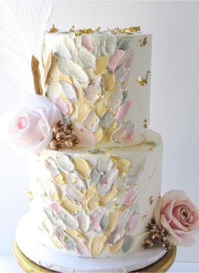 Pastel frosting