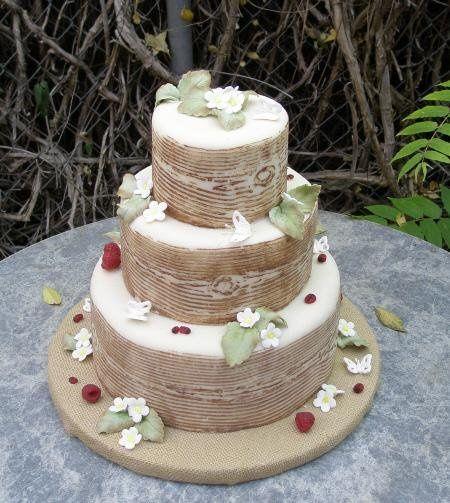 Bois Faux Cake