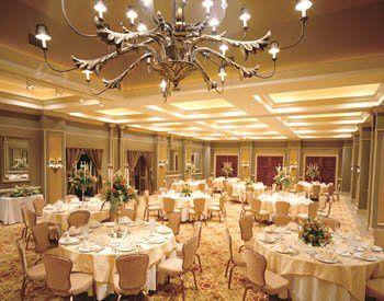Fancy reception area