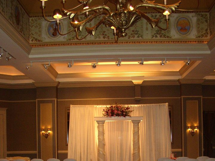 Tmx 1405529384308 Ceremony With Pipe And Drape By Celebrations Desig Wilmington, DE wedding venue