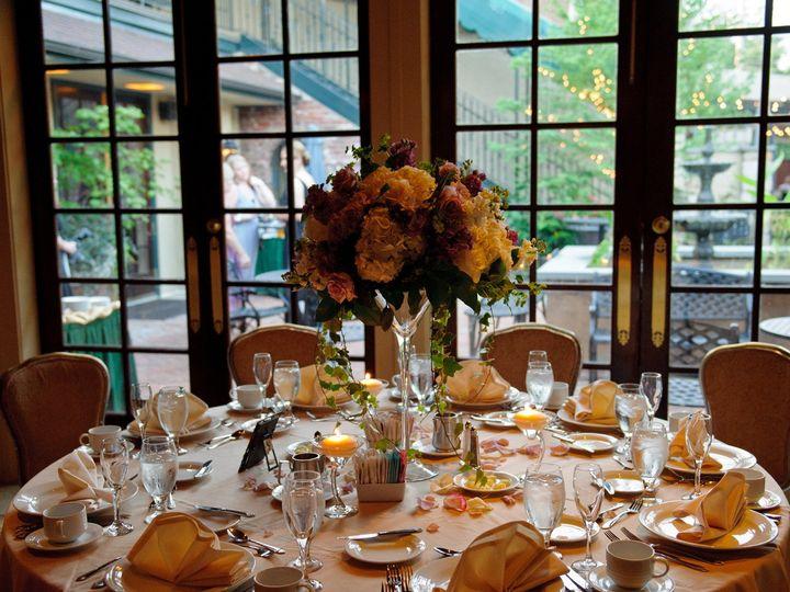 Tmx 1405529969642 Lovely Table Overlooking The Courtyard Wilmington, DE wedding venue