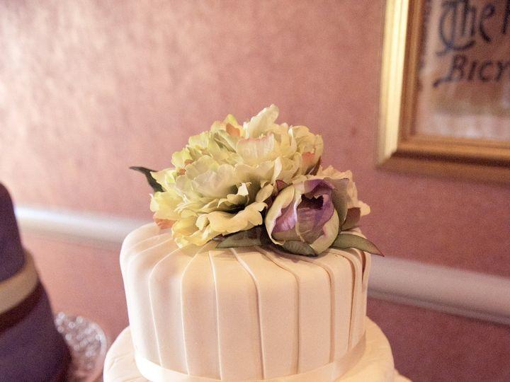 Tmx 1405530332661 Pleated Fondant Wedding Cake Wilmington, DE wedding venue
