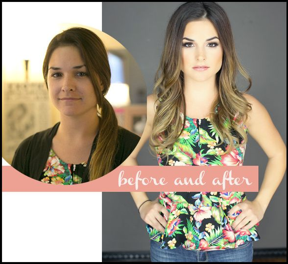 before and after boudoir make up tips