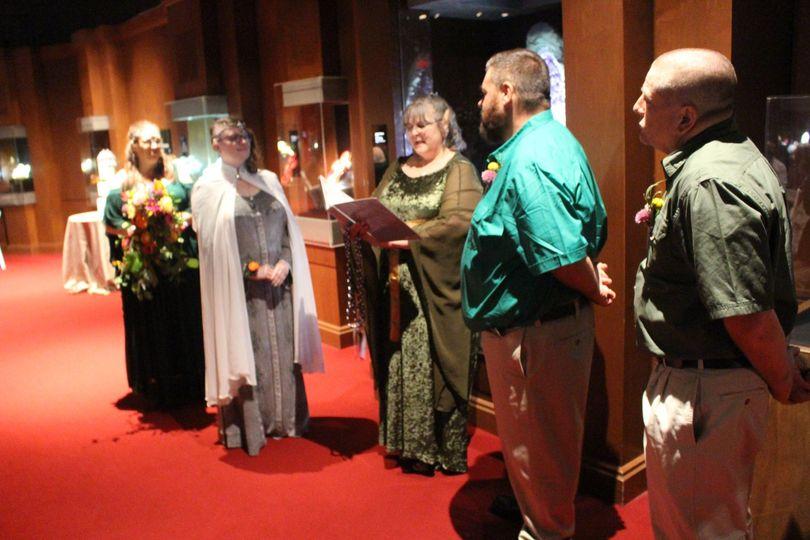 Elf Themed Wedding