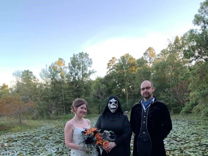 Tmx Hopkinson Halloween Wedding 51 1073201 1572661720 Houston, TX wedding officiant