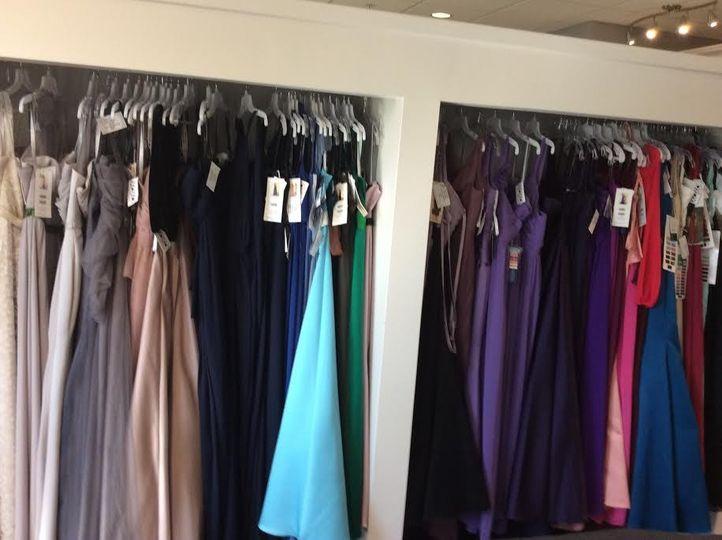 We carry Bill Levkoff, Sorella Vita and Mori Lee bridesmaids dresses in long and short with many...