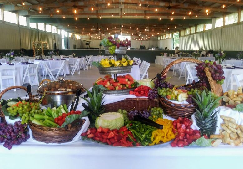 Fruit & Veggie Set Up