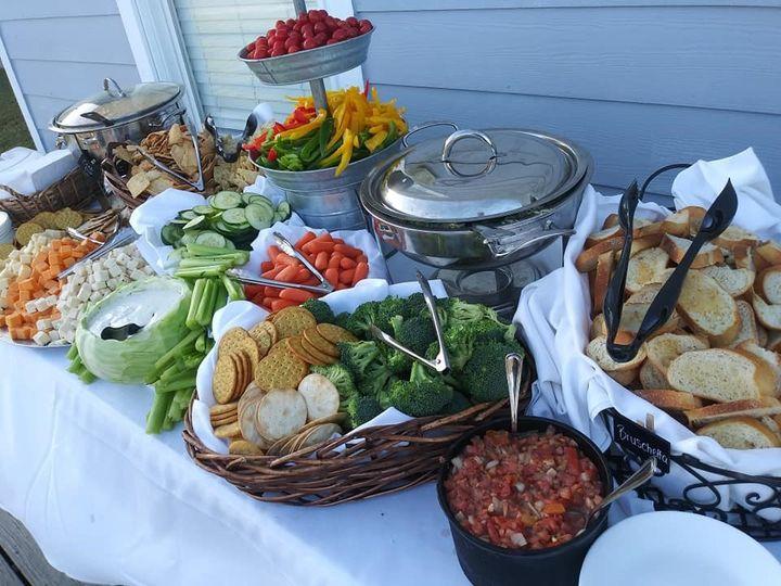 Appetizer Set Up