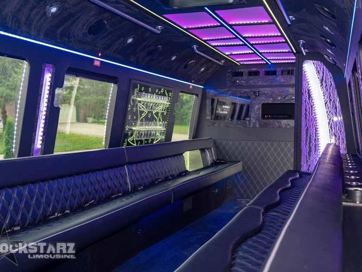Tmx Paddy Wagon Wedding Party Bus 51 715201 157858375653625 Plymouth, MI wedding transportation