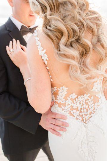 Beautiful lace detail
