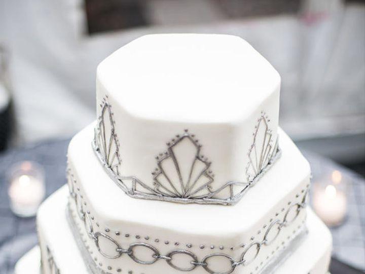 Tmx 1500563568714 Hexagon Cake Philadelphia, Pennsylvania wedding cake