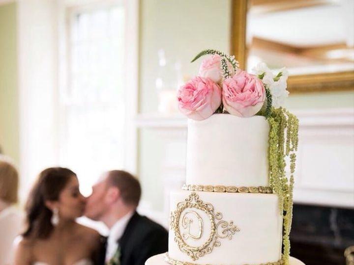Tmx 1518638386 F7442465cd95fc82 1518638337 81b1f606c0147631 1518638336319 8 DeFranco Wedding Philadelphia, Pennsylvania wedding cake