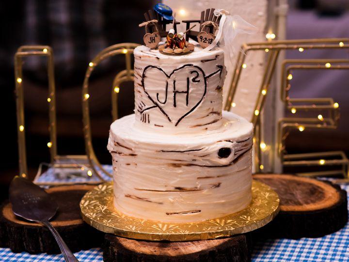 Tmx 9 2 18 Jess And Jordan Hoachlander Jess Hamilton Camp Kweebec 51 16201 Philadelphia, Pennsylvania wedding cake