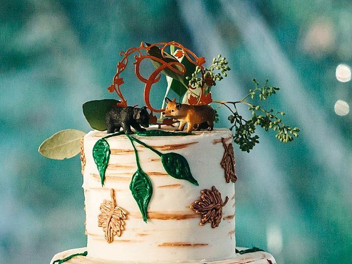 Tmx Fall Leaves Piping 51 16201 Philadelphia, Pennsylvania wedding cake