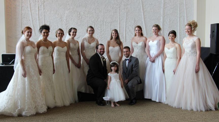 South's Fashion show at 2014 ACES Wedding Expo in Boone, North Carolina.