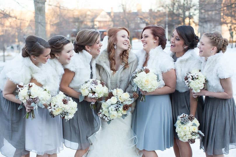 Winter wedding | Photo credit: Richard & Tara Photography