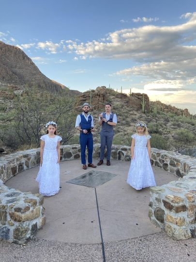 Grooms and ring bearers