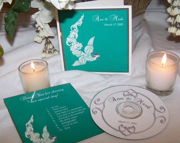 With your order, you receive a cd with personalized cd label, personalized insert and custom...