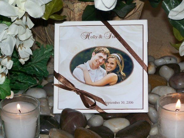 Personalize this cd case with your own photo & wedding information.