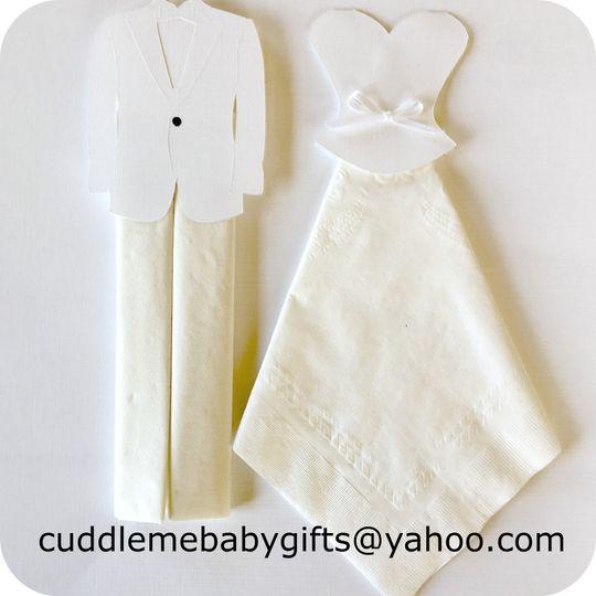 Bride to be napkins