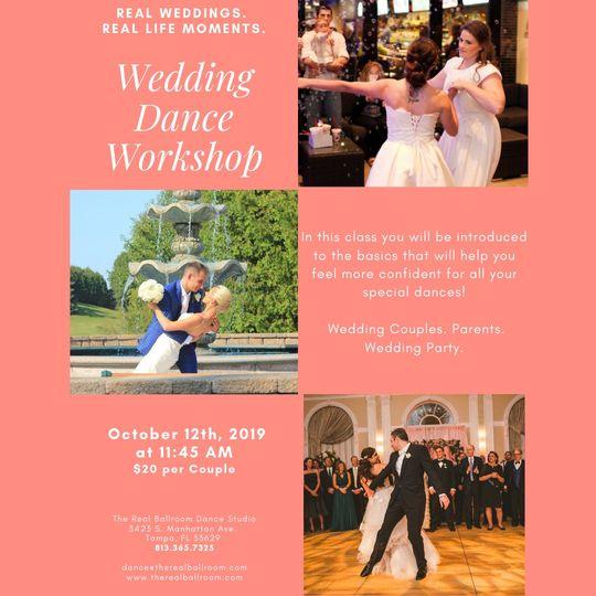 Fall Wedding Dance Workshop
