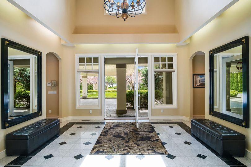 Marble Foyer entranceway