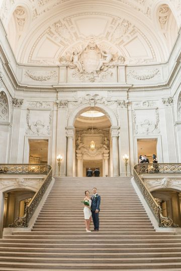 Aly + Daniel, SF City Hall