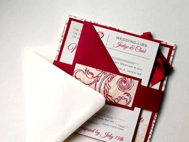 Tmx 1425948042110 Img2762 Baltimore wedding invitation