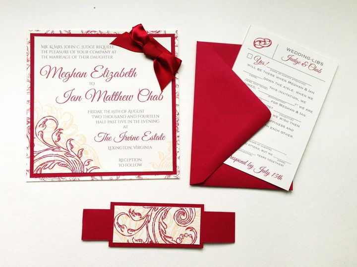 Tmx 1425948061155 Img2763 Baltimore wedding invitation