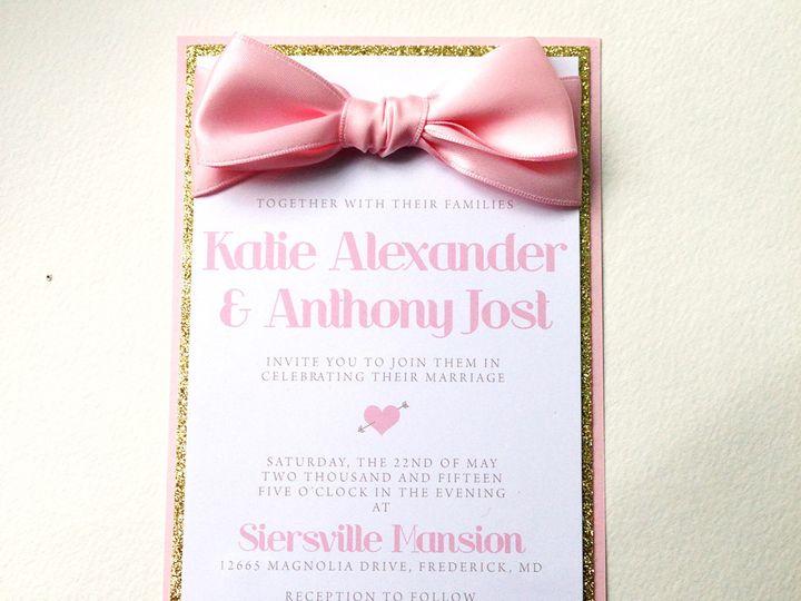 Tmx 1425948195158 Img2797 Baltimore wedding invitation