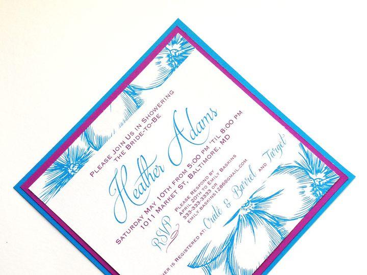 Tmx 1425948273633 Img2862 Baltimore wedding invitation