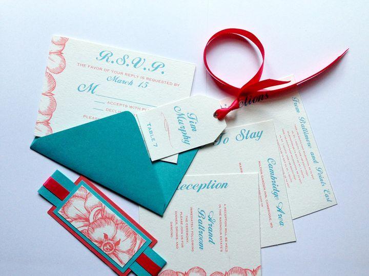 Tmx 1425948328140 Img1547 Baltimore wedding invitation