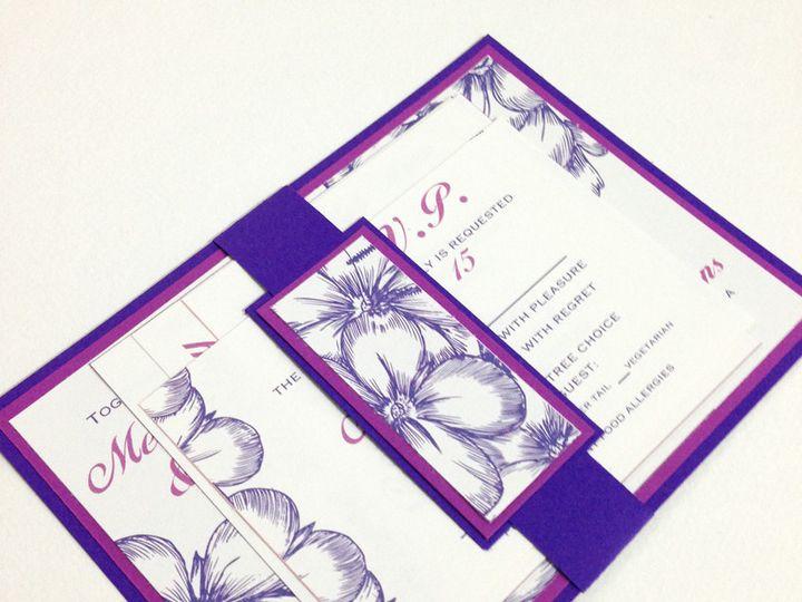 Tmx 1425948363822 Purple4 Baltimore wedding invitation
